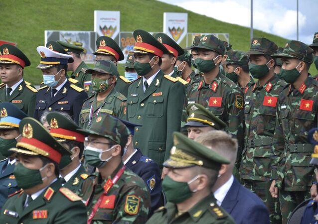 Đoàn Việt Nam tham dự Army Games-2021