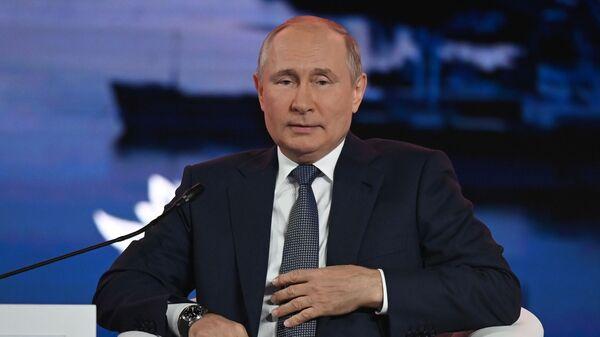 Tổng thống Nga V.Putin tham dự Diễn đàn Kinh tế Phương Đông - Sputnik Việt Nam