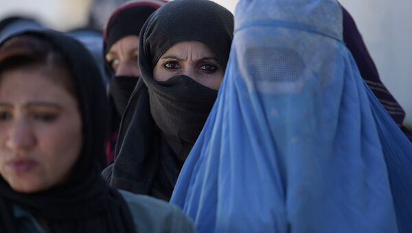 Phụ nữ Afghanistan ở Kabul - Sputnik Việt Nam