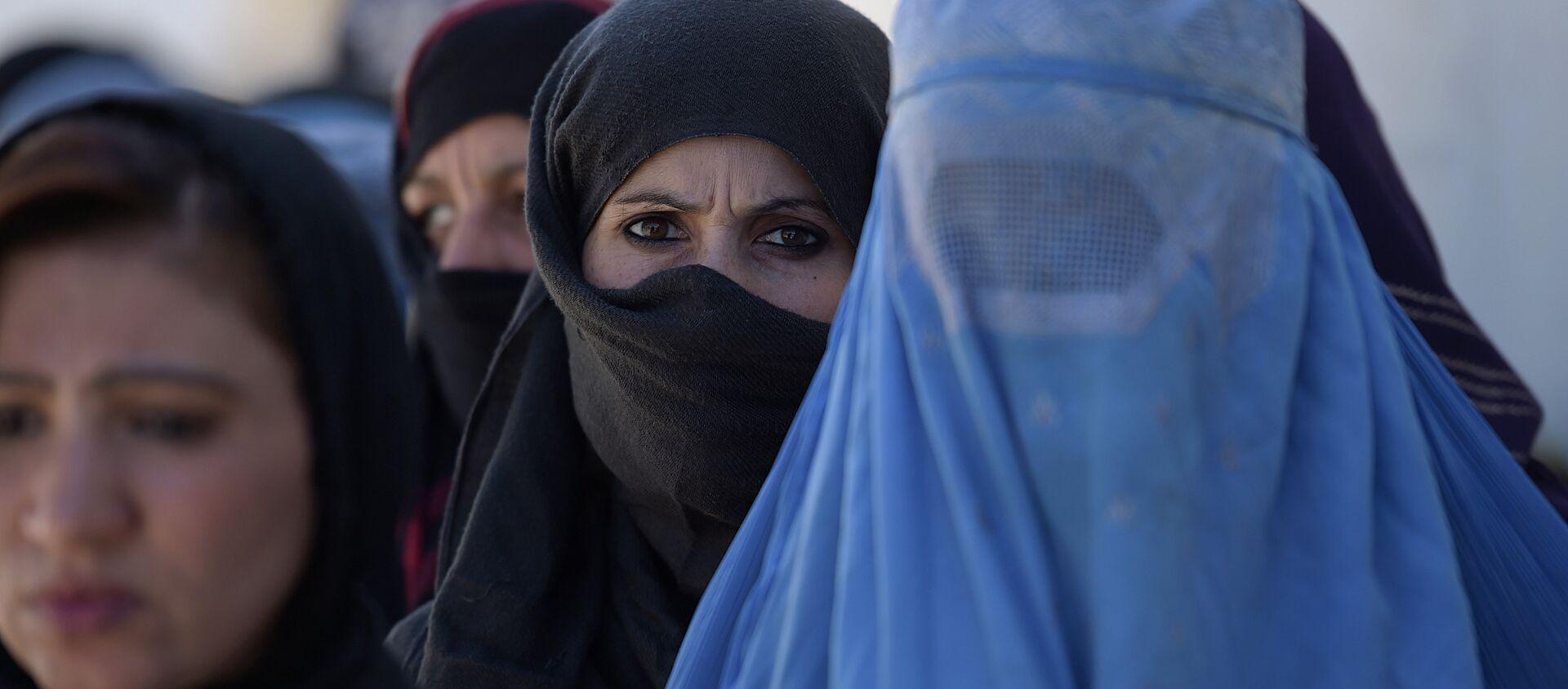 Phụ nữ Afghanistan ở Kabul - Sputnik Việt Nam, 1920, 03.09.2021
