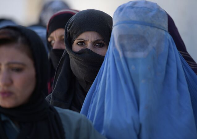 Phụ nữ Afghanistan ở Kabul