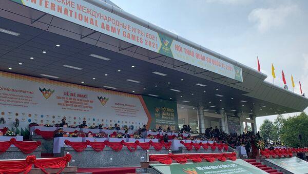"""Bế mạc Cuộc thi """"Xạ thủ bắn tỉa và Vùng tai nạn"""" trong khuôn khổ Army Games 2021 tại Việt Nam - Sputnik Việt Nam"""
