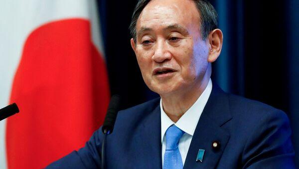 Thủ tướng Nhật Bản Yoshihide Suga - Sputnik Việt Nam