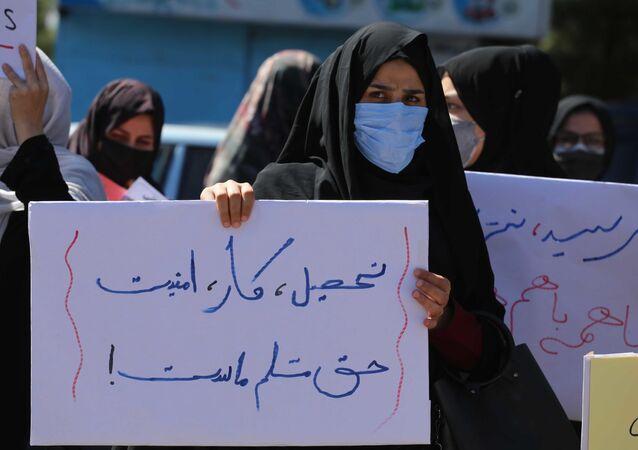 Cuộc biểu tình của phụ nữ ở Herat, Afghanistan
