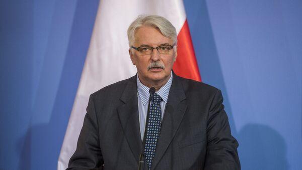 Cựu Bộ trưởng Bộ Ngoại giao Ba Lan Witold Jan Waszczykowski - Sputnik Việt Nam