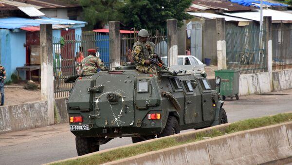 Lực lượng vũ trang Guinea ở Conakry - Sputnik Việt Nam
