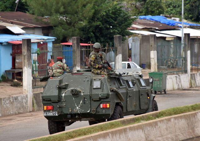Lực lượng vũ trang Guinea ở Conakry