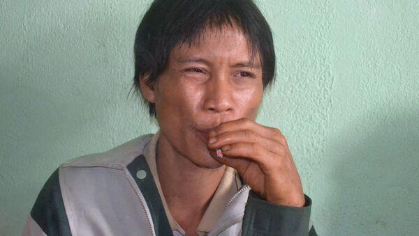 """Người rừng"" Hồ Văn Lang  - Sputnik Việt Nam"