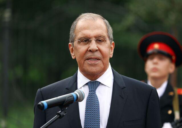 Ngoại trưởng LB Nga Sergei Lavrov
