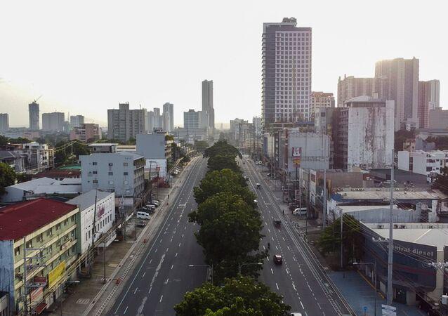 Giãn cách xã hội ở Manila, Philippines