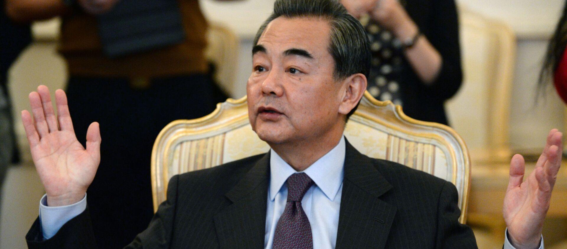 Bộ trưởng Ngoại giao Trung Quốc Vương Nghị (Wang Yi) - Sputnik Việt Nam, 1920, 07.09.2021