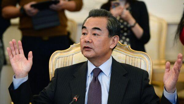 Bộ trưởng Ngoại giao Trung Quốc Vương Nghị (Wang Yi) - Sputnik Việt Nam