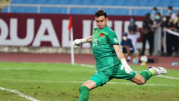 Thủ môn Đặng Văn Lâm bắt chính ở trận đấu này - Sputnik Việt Nam