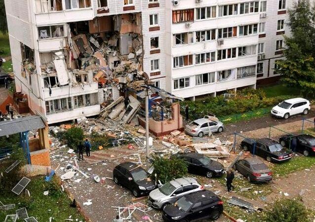 Vụ nổ khí gas ở Noginsk