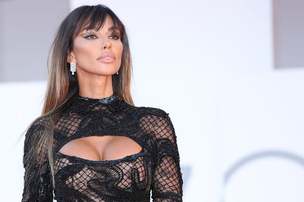 Người mẫu Madalina Genea tại Liên hoan phim Quốc tế Venice lần thứ 78