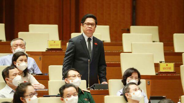 Đại biểu Quốc hội Thành phố Hà Nội Vũ Tiến Lộc phát biểu - Sputnik Việt Nam