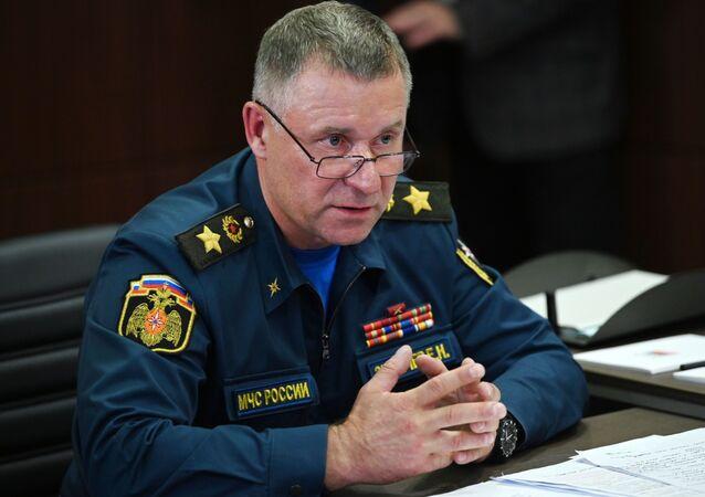 Bộ tình trạng khẩn cấp Nga Yevgeny Zinichev