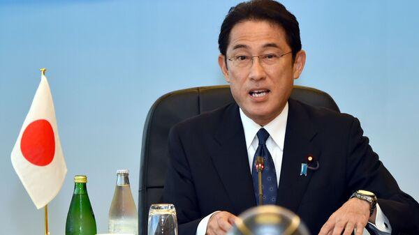 Ứng cử viên Thủ tướng Nhật Bản, cựu Ngoại trưởng Fumio Kishida - Sputnik Việt Nam