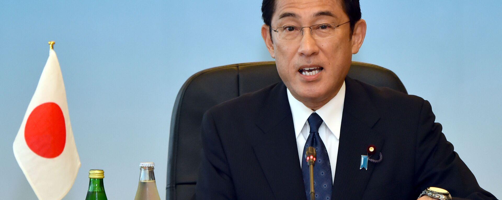 Ứng cử viên Thủ tướng Nhật Bản, cựu Ngoại trưởng Fumio Kishida - Sputnik Việt Nam, 1920, 08.09.2021