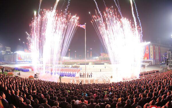 CHDCND Triều Tiên đã tổ chức lễ kỷ niệm thành lập Chính phủ Nhân dân và Quốc khánh năm 1948 (09.09.2021) - Sputnik Việt Nam