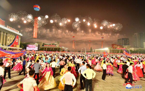 CHDCND Triều Tiên đã tổ chức lễ kỷ niệm thành lập Chính phủ Nhân dân và Quốc khánh năm 1948 - Sputnik Việt Nam