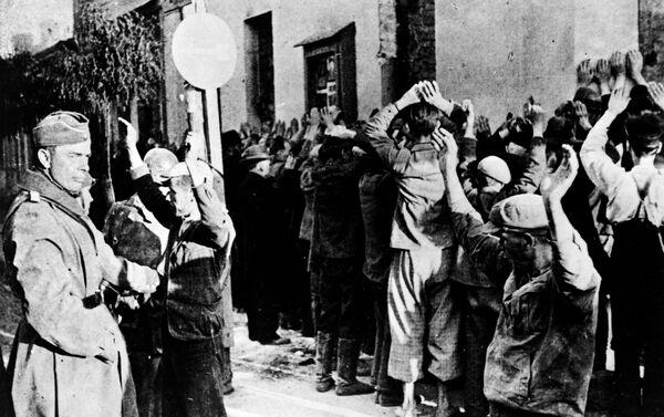 Người Do Thái trong khu tập trung Ghetto ở Warsaw, Ba Lan - Sputnik Việt Nam