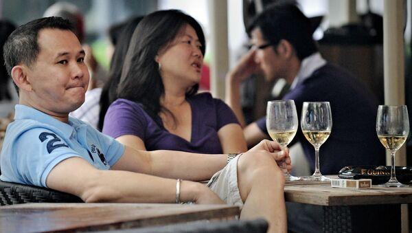 Cặp đôi ở quán cà phê, Thượng Hải - Sputnik Việt Nam