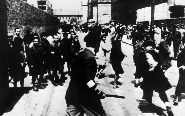 Khu tập trung Ghetto Do Thái trong Thế chiến II, năm 1943 - Sputnik Việt Nam