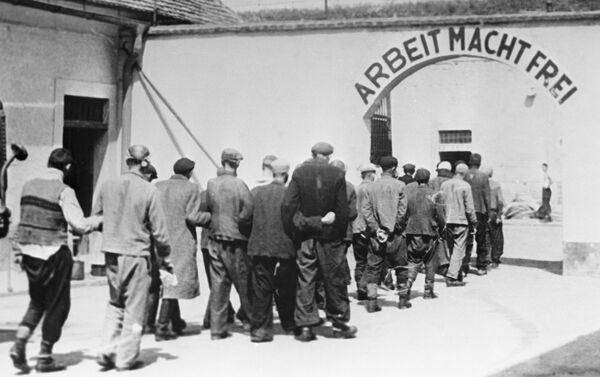 Cựu nhà tù pháo đài của Đức Quốc xã ở Terezín, trại tập trung người Do Thái trong Thế chiến thứ hai, năm 1944 - Sputnik Việt Nam