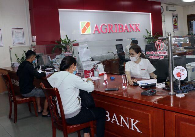 Khách hàng tại Agribank Kon Tum