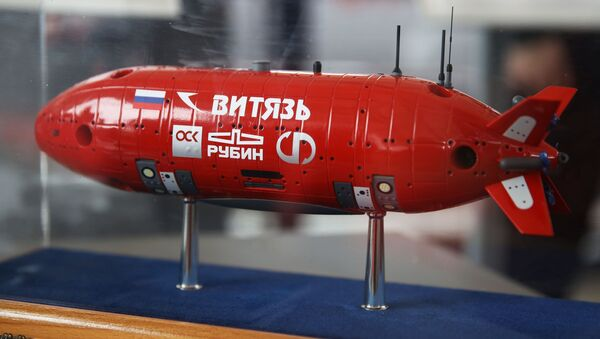 Mô hình tàu lặn độ sâu tự động không người lái Vityaz - Sputnik Việt Nam