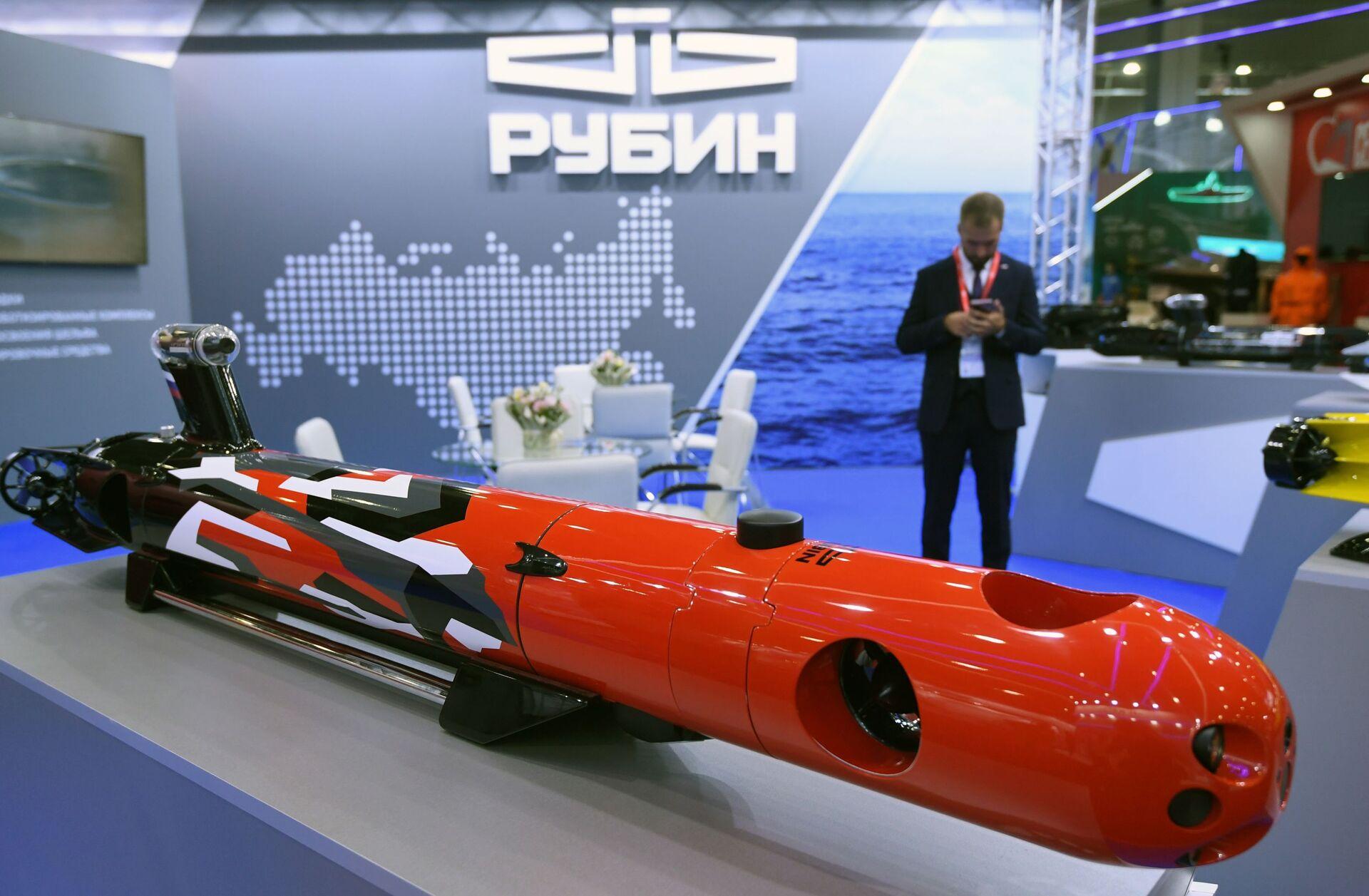 Phương tiện tự hành không người lái dưới nước Amulet-2 của Công ty cổ phần Rubin - Sputnik Việt Nam, 1920, 05.10.2021