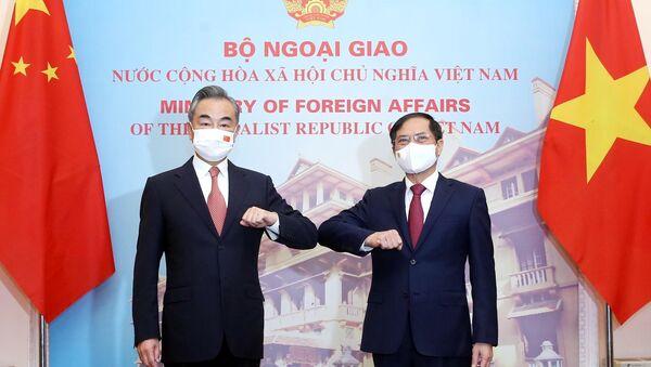 Bộ trưởng Ngoại giao Bùi Thanh Sơn hội đàm với Bộ trưởng Ngoại giao Trung Quốc Vương Nghị - Sputnik Việt Nam
