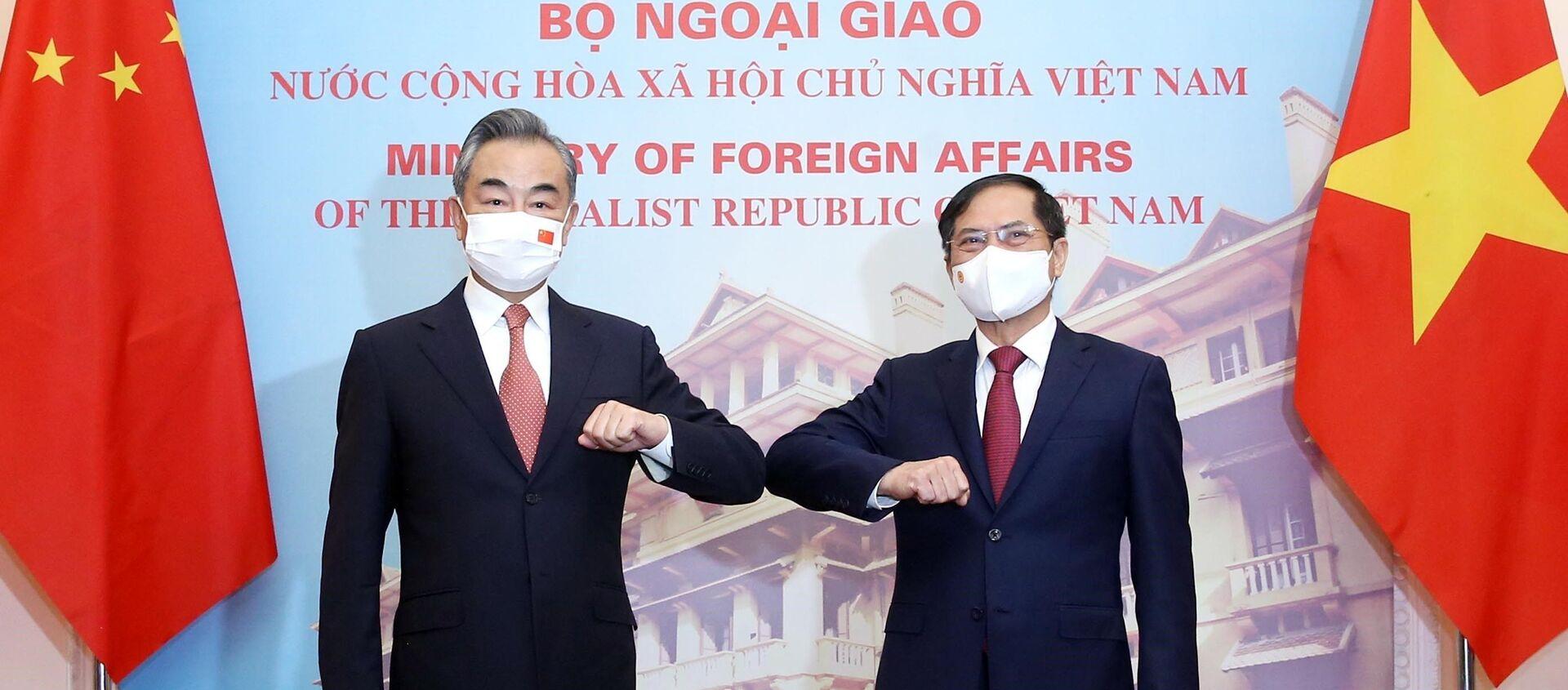 Bộ trưởng Ngoại giao Bùi Thanh Sơn hội đàm với Bộ trưởng Ngoại giao Trung Quốc Vương Nghị - Sputnik Việt Nam, 1920, 11.09.2021