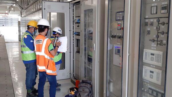 Công tác đóng điện trạm biến áp Bình Thái dự kiến sẽ hoàn thành trong đêm 13/7/2021 - Sputnik Việt Nam