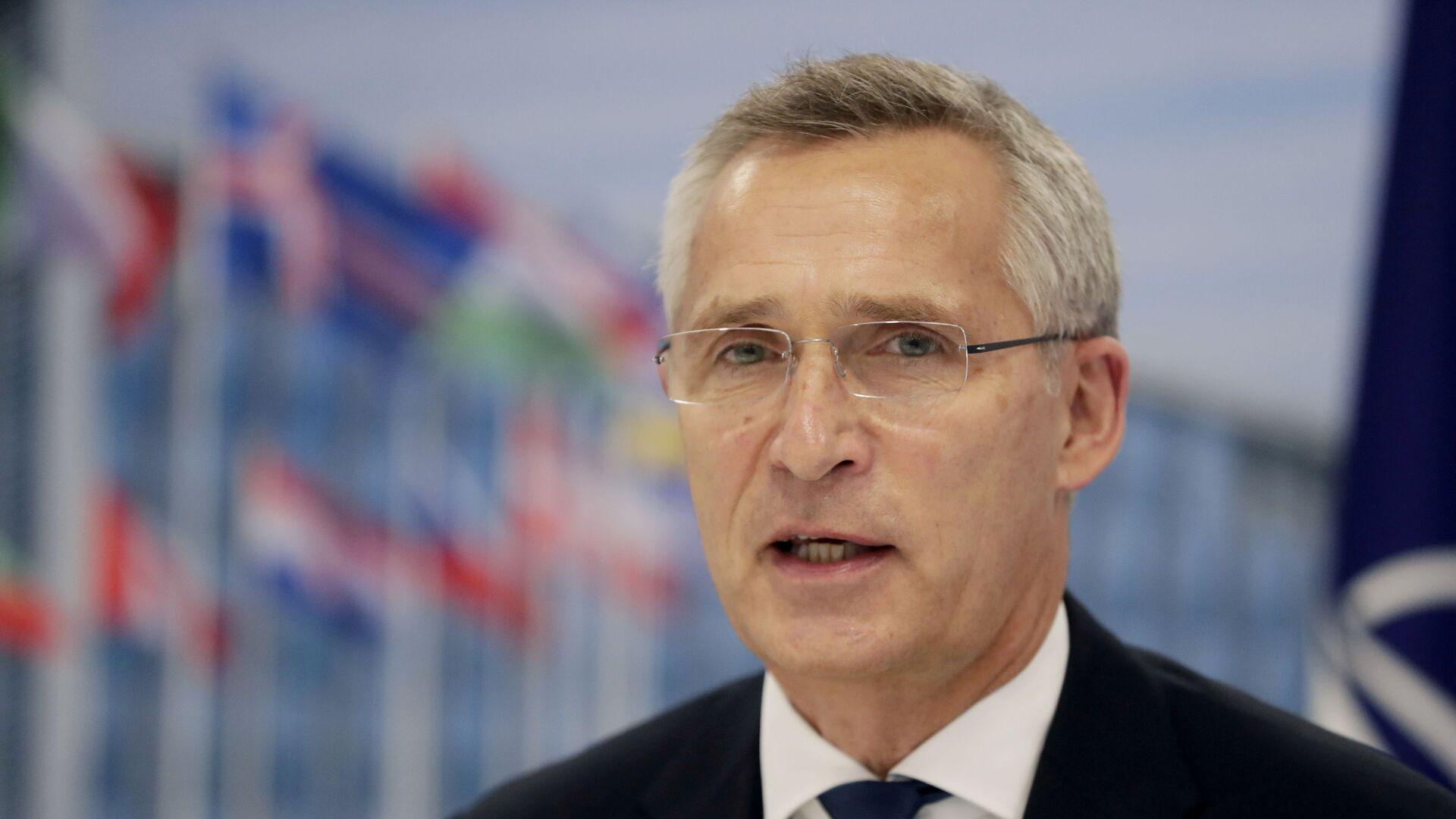 Tổng thư ký NATO Jens Stoltenberg - Sputnik Việt Nam, 1920, 12.09.2021