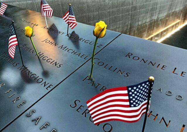 Sự kiện tưởng niệm 20 năm vụ tấn công khủng bố ngày 11 tháng 9 năm 2001 ở New York, cạnh Đài tưởng niệm và Bảo tàng.