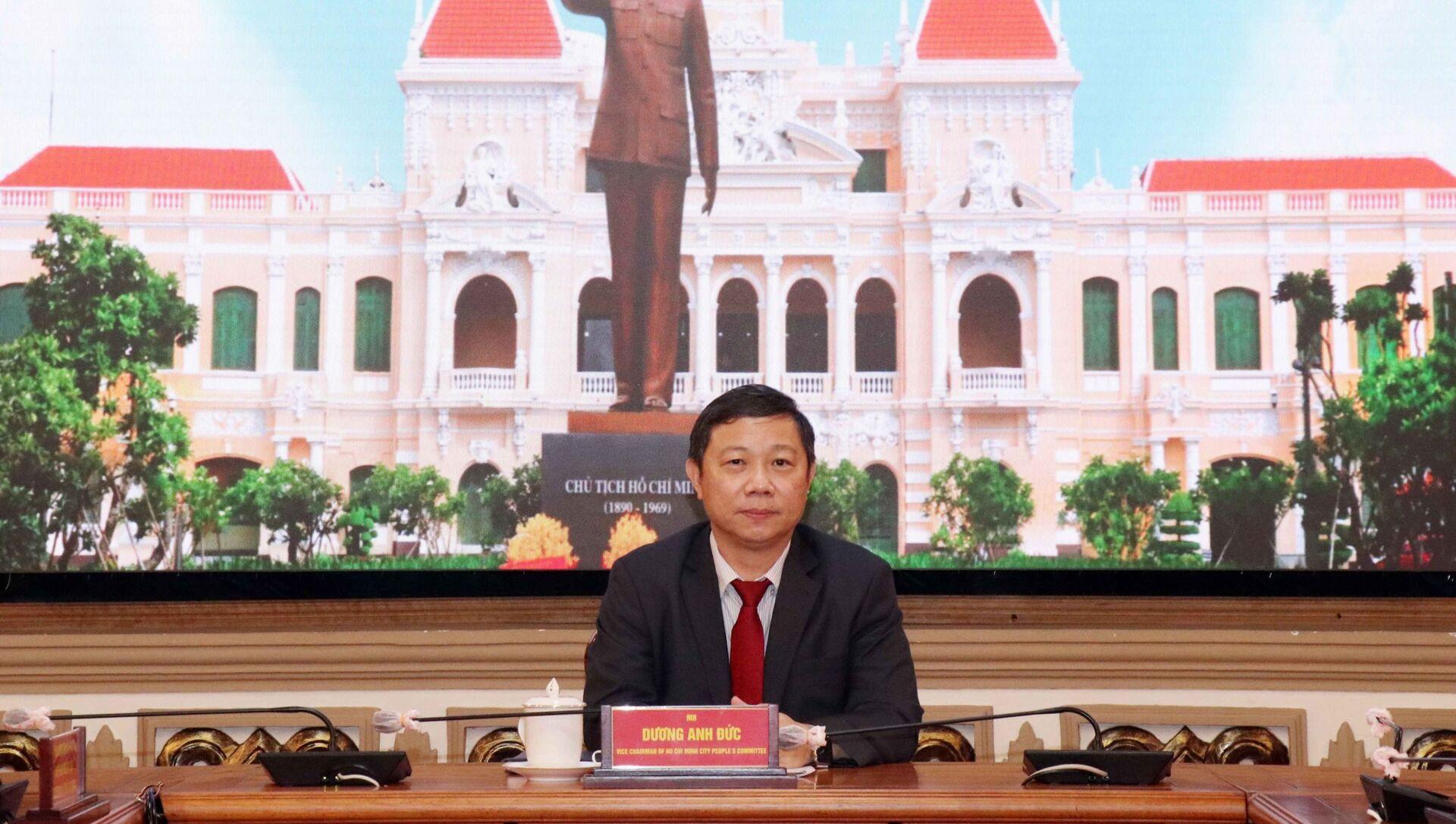 Phó Chủ tịch UBND TP.HCM Dương Anh Đức - Sputnik Việt Nam, 1920, 13.09.2021