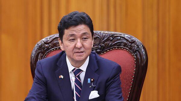 Bộ trưởng Quốc phòng Nhật Bản Kishi Nobuo phát biểu - Sputnik Việt Nam