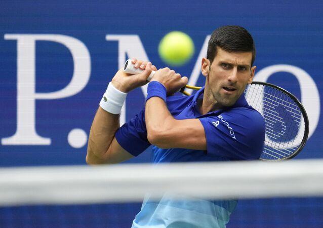 Tay vợt số một của thế giới Novak Djokovic