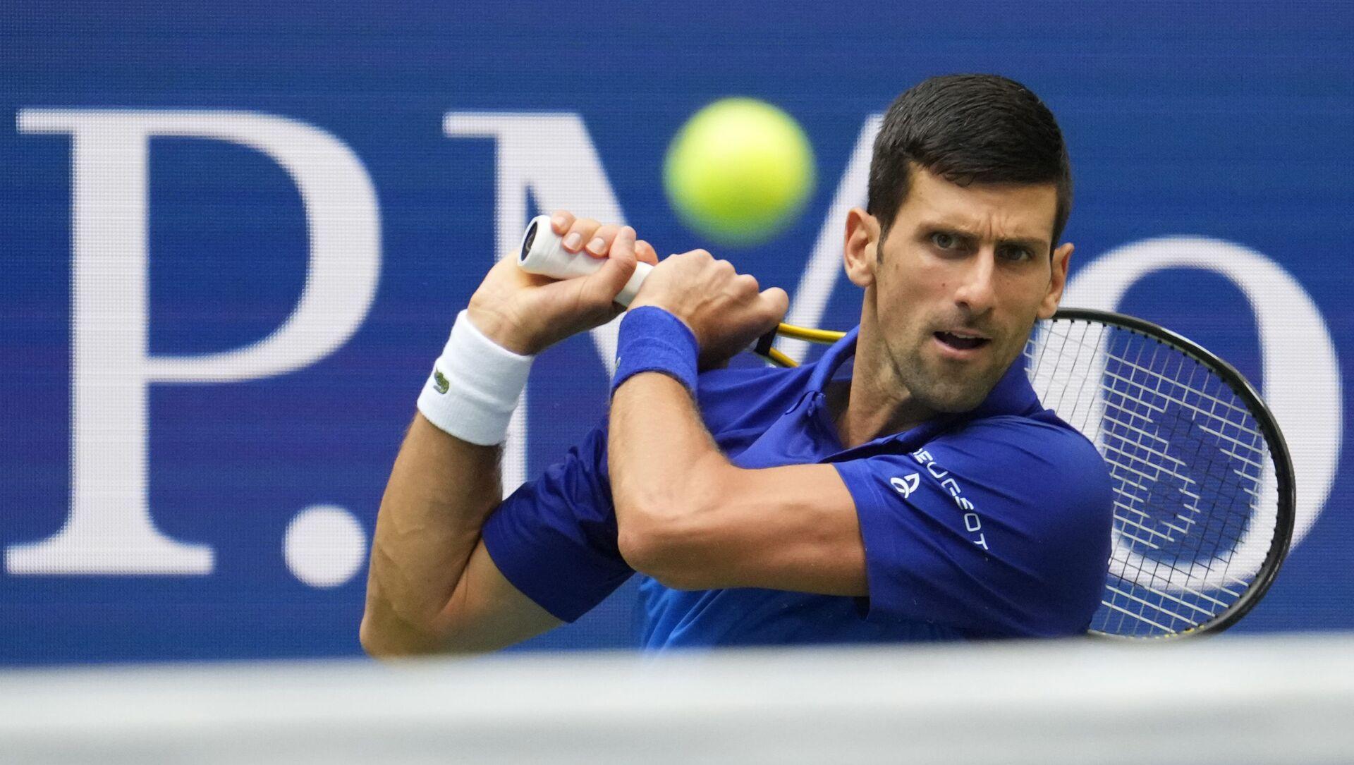 Tay vợt số một của thế giới Novak Djokovic - Sputnik Việt Nam, 1920, 13.09.2021