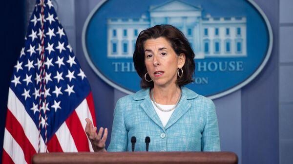 Bộ trưởng Thương mại Mỹ Gina Raimondo - Sputnik Việt Nam