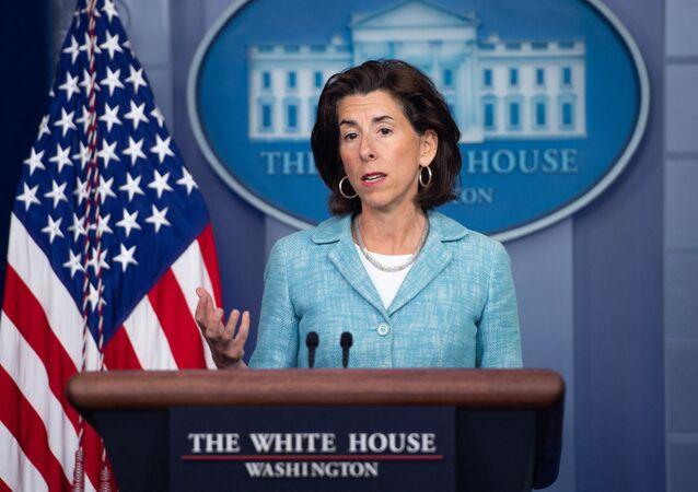 Bộ trưởng Thương mại Mỹ Gina Raimondo