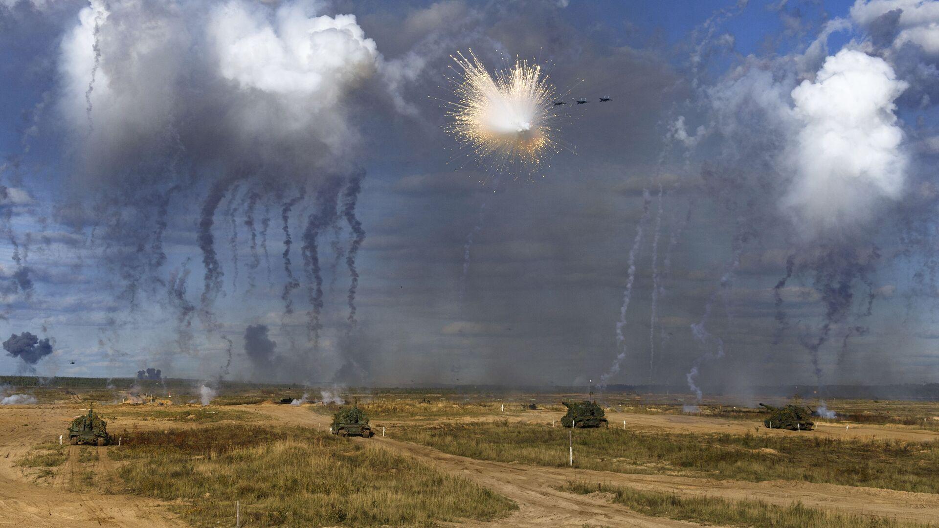 Cuộc tập trận Zapad-2021 - Sputnik Việt Nam, 1920, 17.09.2021