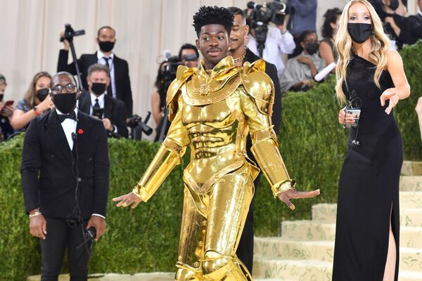 Rapper Mỹ Lil Nas X đến Met Gala 2021, Mỹ  - Sputnik Việt Nam
