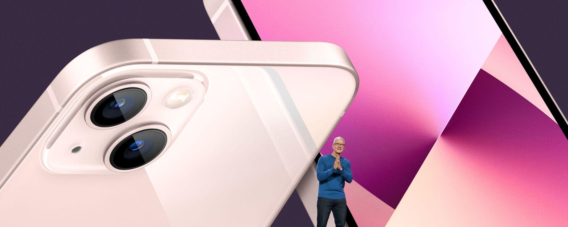CEO Apple Tim Cook tại buổi giới thiệu iPhone 13 - Sputnik Việt Nam, 1920, 15.09.2021