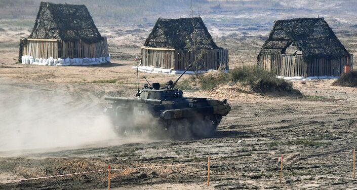 Xe chiến đấu bộ binh BMP-2 của Nga tại cuộc tập trận chiến lược chung Zapad-2021