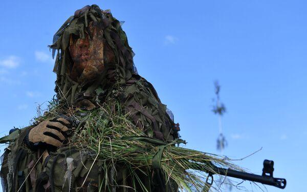 Quân nhân tại cuộc tập trận của Lực lượng vũ trang Nga và Belarus Zapad-2021 - Sputnik Việt Nam