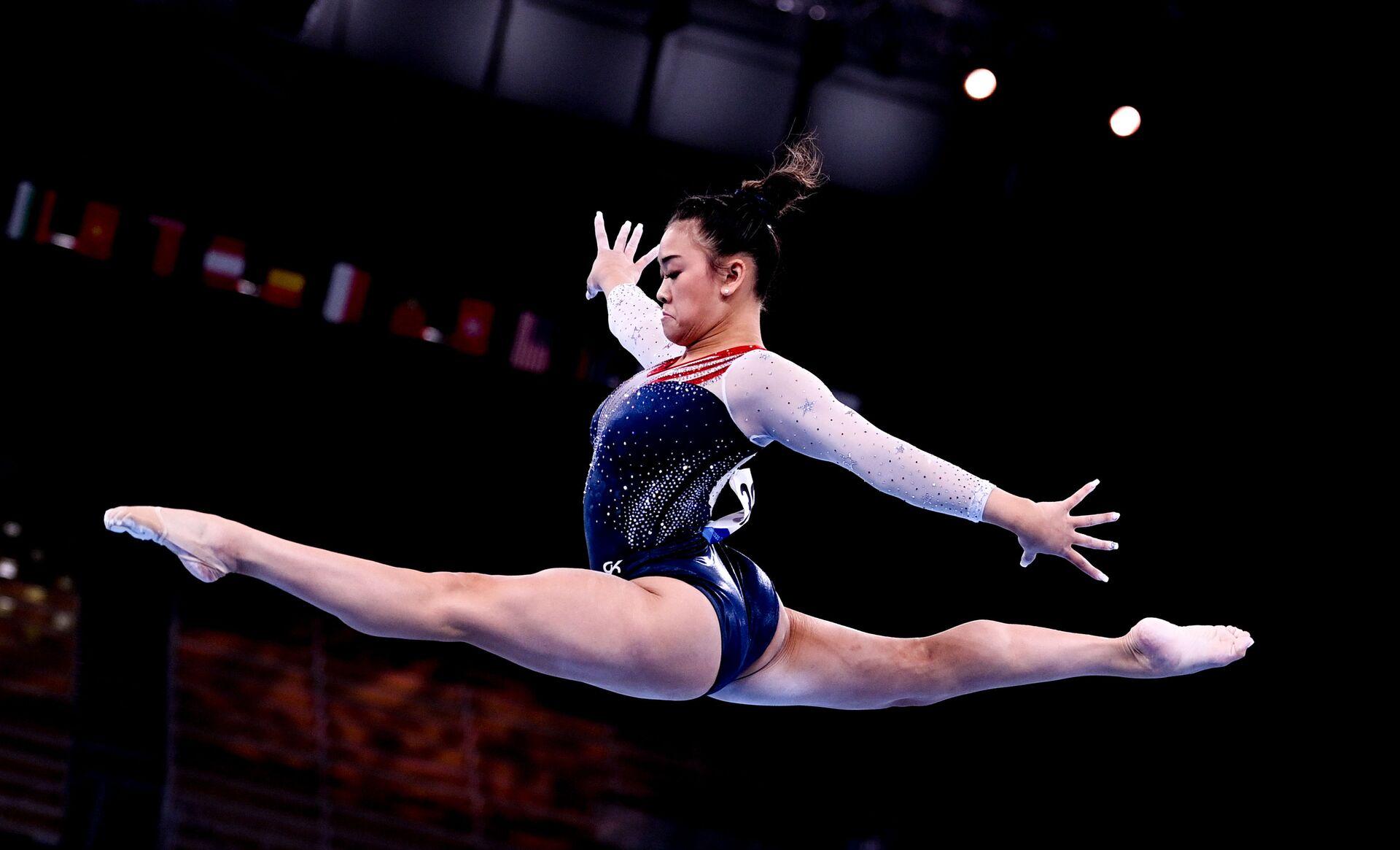 Nữ VĐV thể dục dụng cụ Mỹ gốc Hmong Sunisa Lee tại Thế vận hội Tokyo 2020 - Sputnik Việt Nam, 1920, 05.10.2021