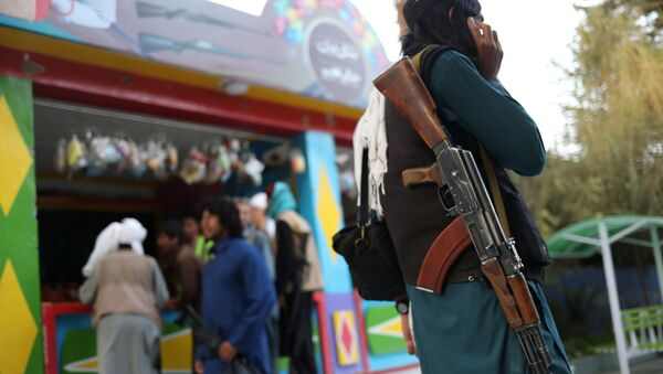 Binh sĩ Taliban ở Kabul - Sputnik Việt Nam